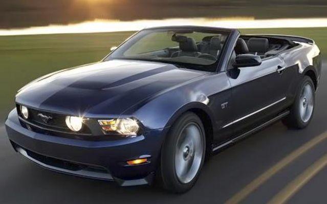 Ford Mustang als Cabrio auf Mallorca