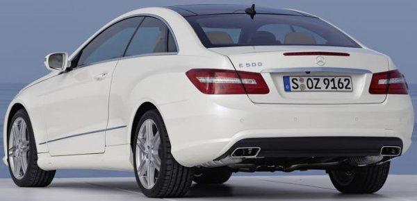 Mallorca Mietwagen - Mercedes Benz E-Klasse Coupe